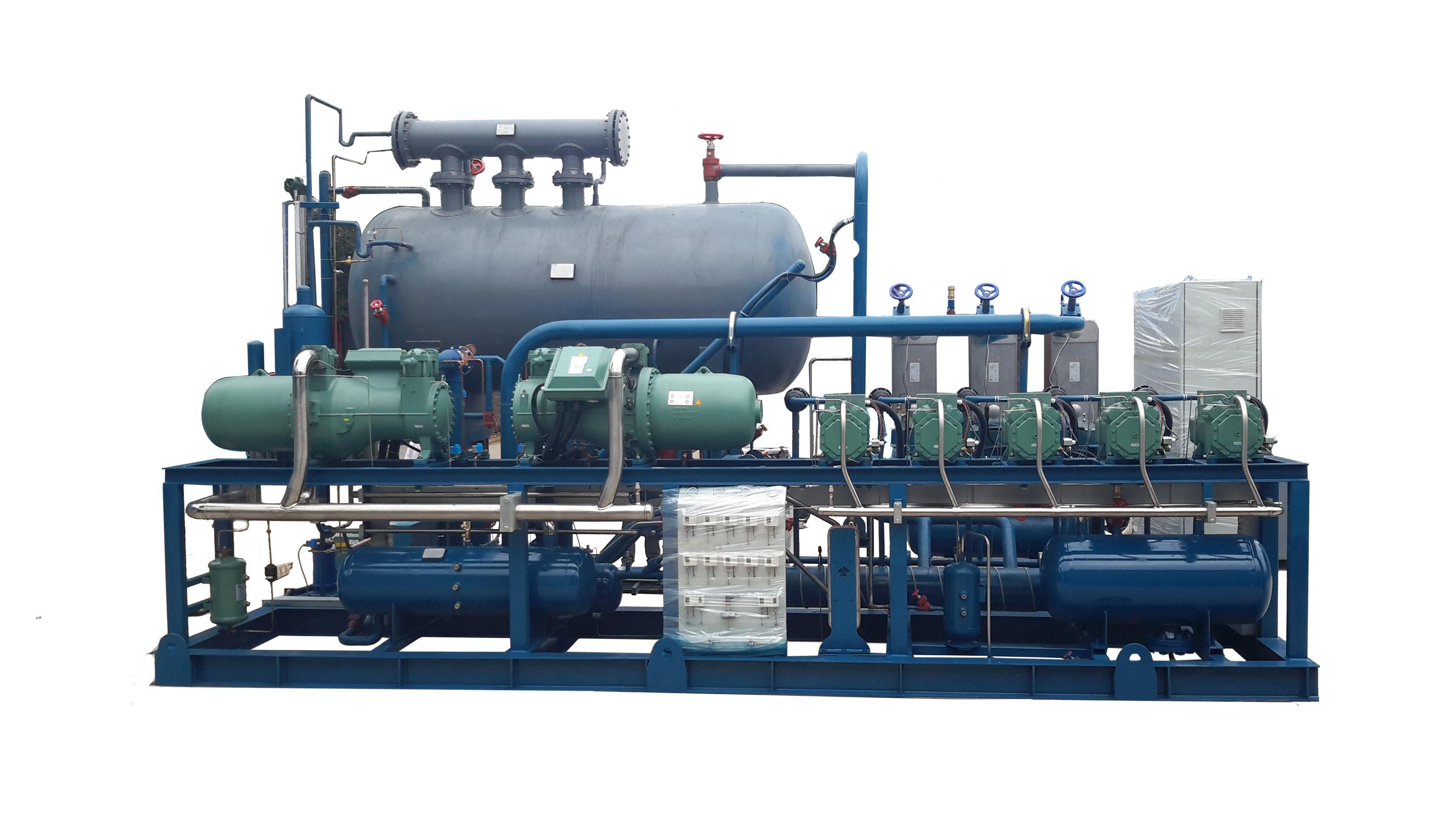 氟/CO2复叠撬块机组