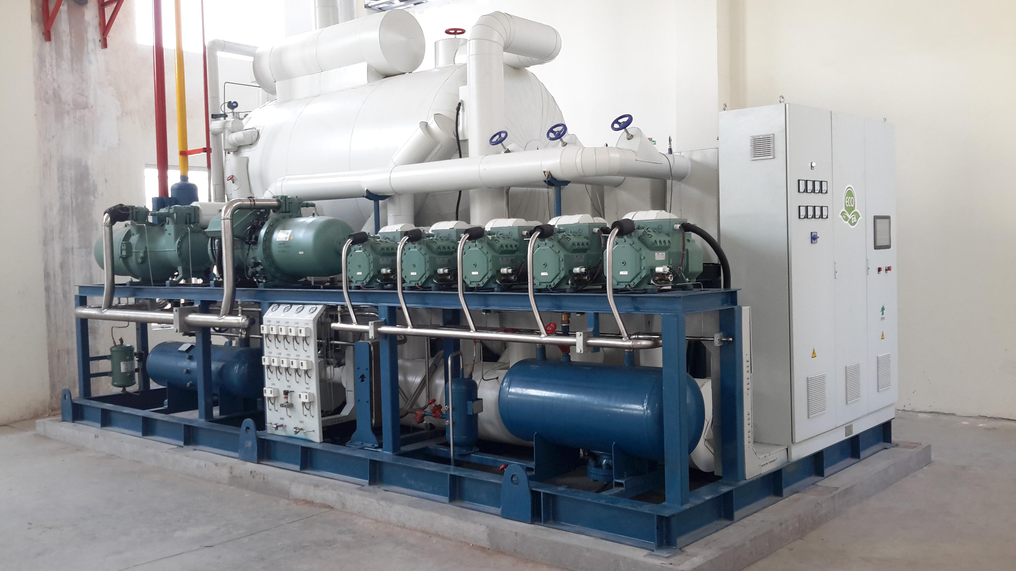 山东佳博耀集食品有限公司2T单冻机冷源系统工程